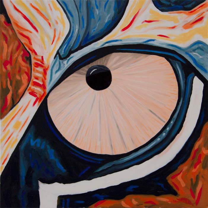 Paintings: Eyes