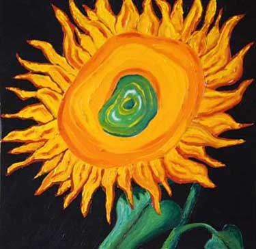 Flaming Sunflower