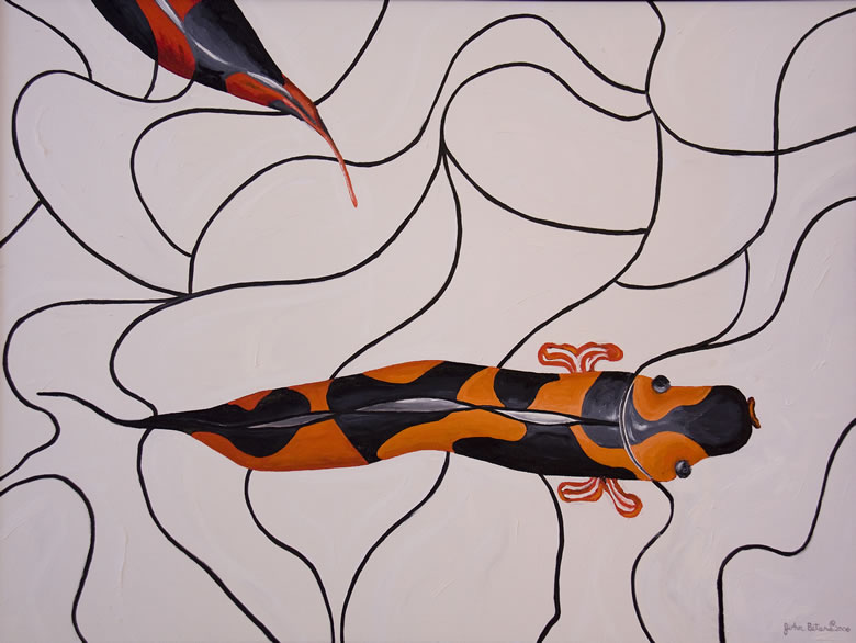 Paintings: Koi